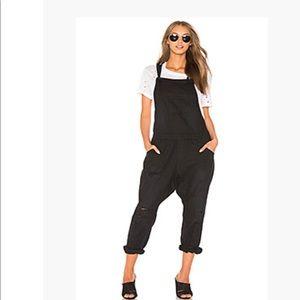 One Teaspoon black overalls, size Small